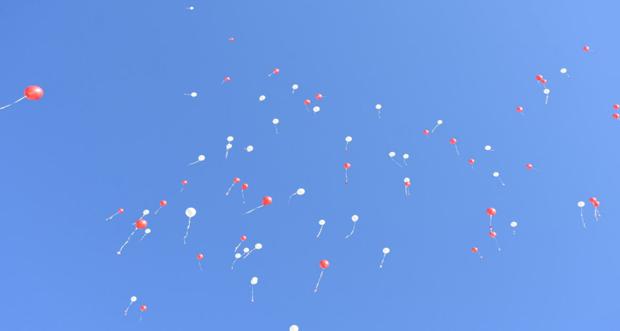 Sevgimi Uçan Balonlarla Gönderiyorum