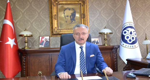 """Rektör Levent 'ten""""Barış Pınarı Harekâtı"""" na Destek Mesajı"""