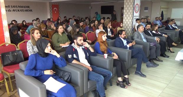 Erzincan Barosu Tarafından İşçilik Alacakları Konulu Seminer Verildi