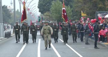 29 Ekim Cumhuriyet Bayramı 96. Yılı Coşkulu Kutlandı