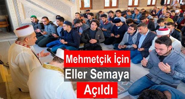 Üniversiteli Gençler Mehmetçik'e Manevî Destek İçin Pir-i Sami Türbe Camiinde Buluştu