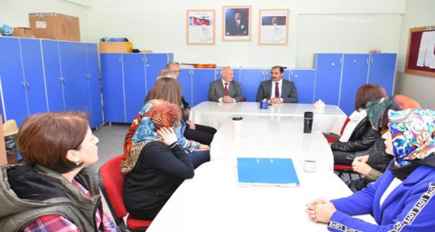 İl Millî Eğitim Müdürü Aziz GÜN, Merkez Kavakyolu Paşa İlkokulu'nu Ziyaret Etti