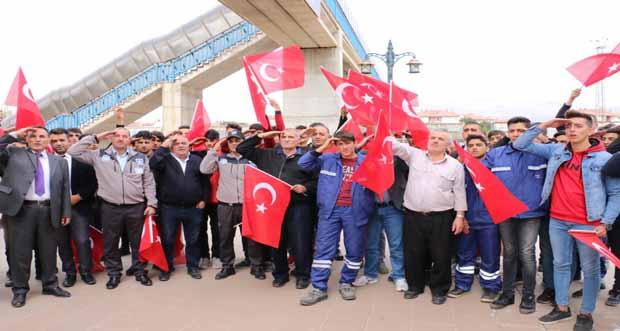 Erzincan'dan farklı kurumlardan destekler devam ediyor