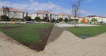 Park ve Yeşil Alan Çalışmaları Hızla Devam Ediyor