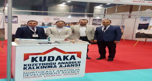 KUDAKA, Turizm ve Seyahat Fuarı'nda Bölgeyi Tanıttı