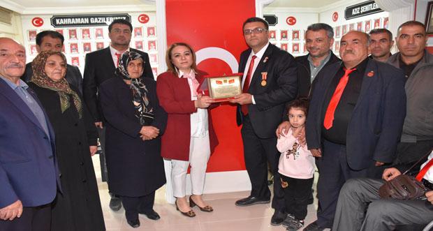 Rektör Karabulut'tan şehit aileleri ve gazilere ziyaret