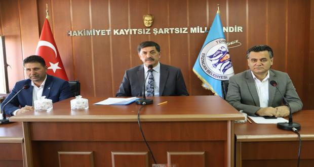 Erzincan Belediye Meclisi Barış Pınarı Harekâtı Gündemiyle Olağanüstü Toplandı