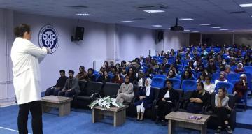 Meme kanseri farkındalık semineri düzenlendi