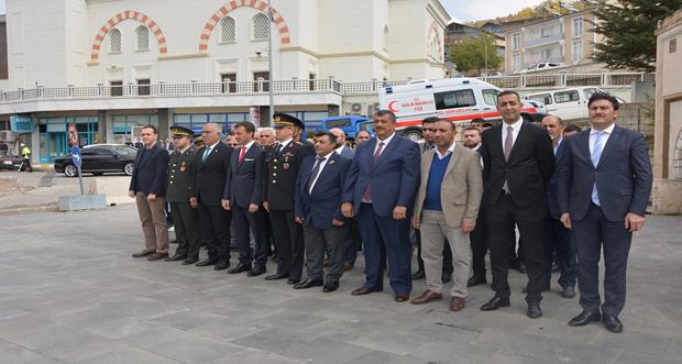 29 Ekim Cumhuriyet Bayramı'nın 96. Yılı İliç'te Çoşkulu bir Şekilde kutlandı