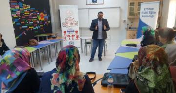 Odak 21. Yüzyıl Erzincan Aile Eğitimi Projesi devam ediyor.