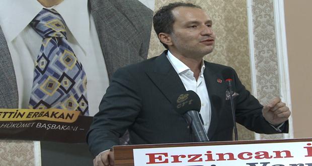Yeniden Refah Partisi Erzincan 1. Olağan Kongresi Yapıldı