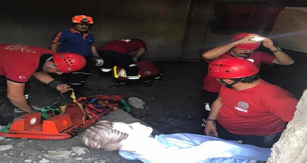 Erzincan İl Sağlık Müdürlüğü UMKE ekibi Ulusal TAMP deprem tatbikatını tamamladı