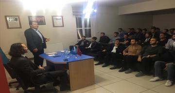 """""""TÜRK DEVLETİ EBED MÜDDET """" konulu seminer düzenlendi"""