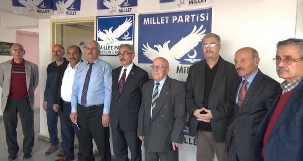 Millet Partisi Erzincan İl Başkanlığı Basın Açıklaması