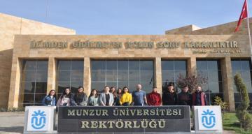 Lise Öğrencilerinden Munzur Üniversitesine Ziyaret