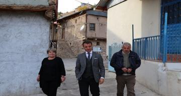 İliç Kaymakamı Hicabi Aytemür, Bağlıca Köyü'nü ziyaret etti