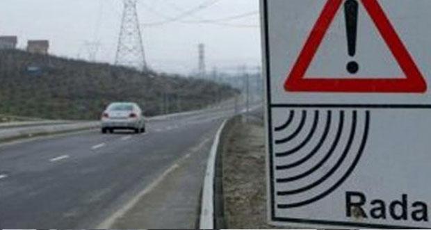 Erzincan -Sivas karayolunda özel hız denetimi yapıldı