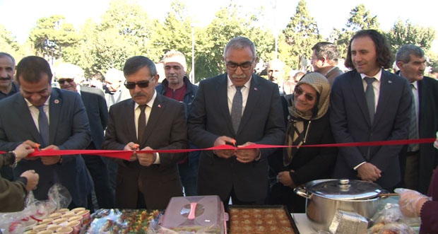 Kermes açılışı yoğun katılımla gerçekleştirildi