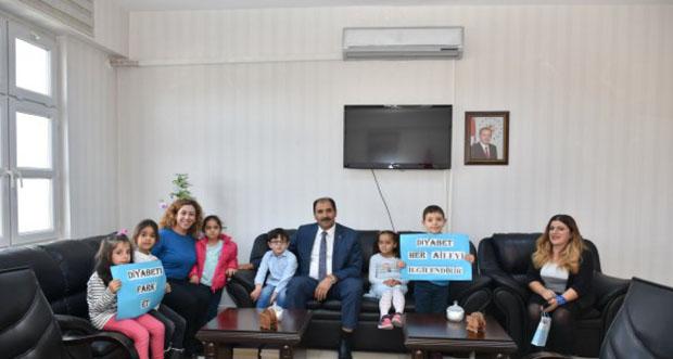 Mustafa Kemal Anaokulu Öğrencileri İl Milli Eğitim Müdürlüğünü Ziyaret Etti