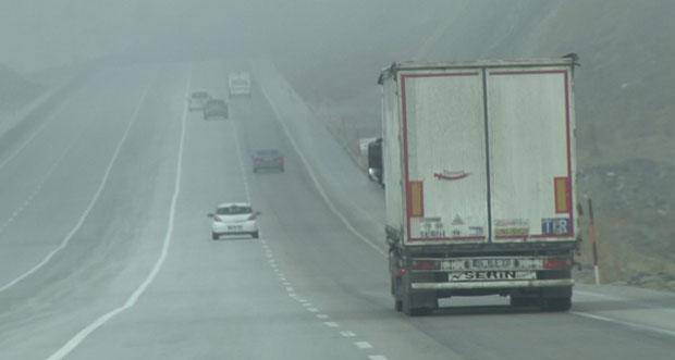 Meydana gelen sis ulaşımı engelliyor
