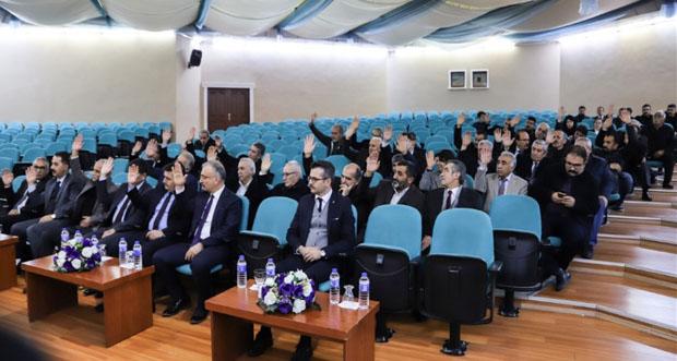 Erzincan Kent Konseyinin genel kurul toplantısı yapıldı