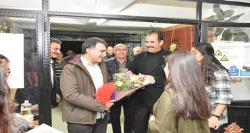 Erdal Erzincan Müzik Sınıfının açılışını gerçekleştirdi
