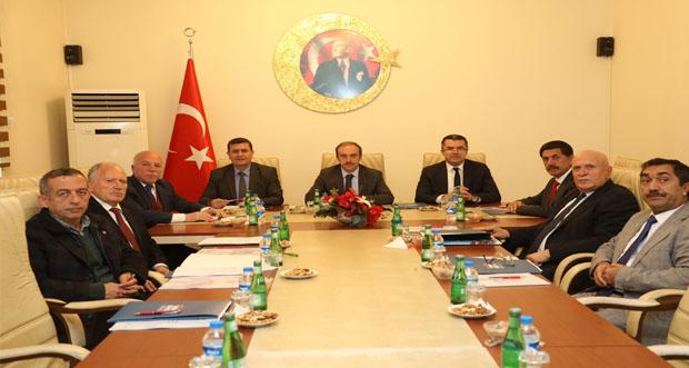 KUDAKA 117. Yönetim Kurulu Toplantısı Erzincan'da Yapıldı