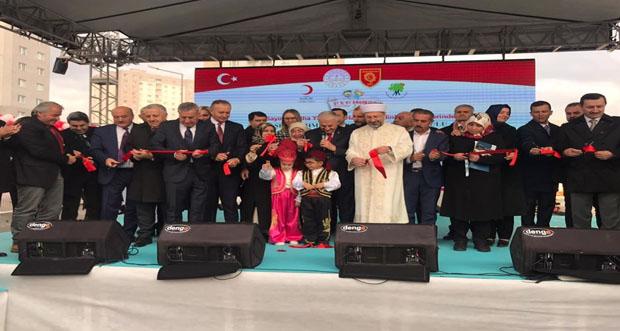 Erzincan Ak Parti Milletvekili Süleyman Karaman Ankara'da bir anaokulu açılışına katıldı