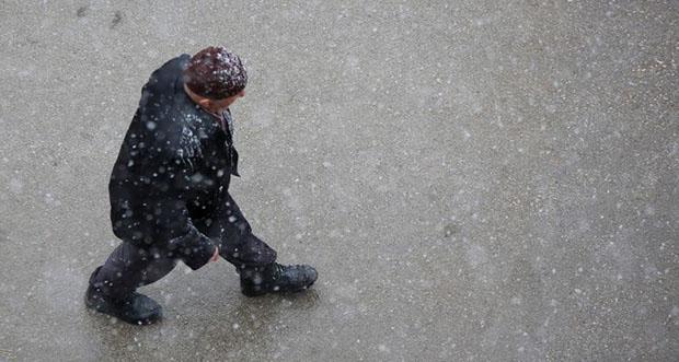 Erzincan'da Sıcaklıklar sıfırın altına düşüyor