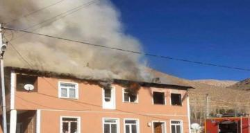 Bayburt'ta Çıkan yangında 3 kişi yanarak can verdi