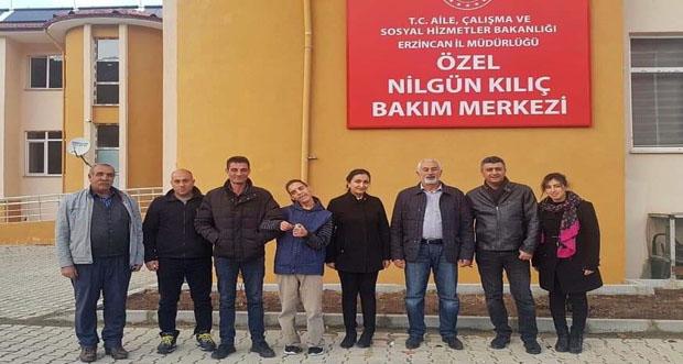 Çağlayan Belediye Başkanı Haydar Şahin, Çağlayan Beldesindeki Nilgün Kılıç Bakım Evini Ziyaret Etti