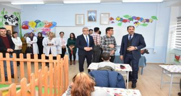 Şehit Er Süleyman Aydın Ortaokulu Özel Eğitim Sınıfı Donatıldı