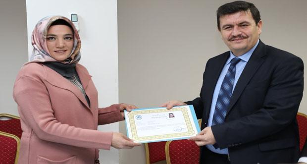 Barış Pınarı Harekatı'nda Görev Yapan Sağlık Personelleri Ödüllendirildi