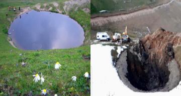 Dipsiz Göl İçin Çevre Ve Şehircilik Bakanlığı Harekete Geçti