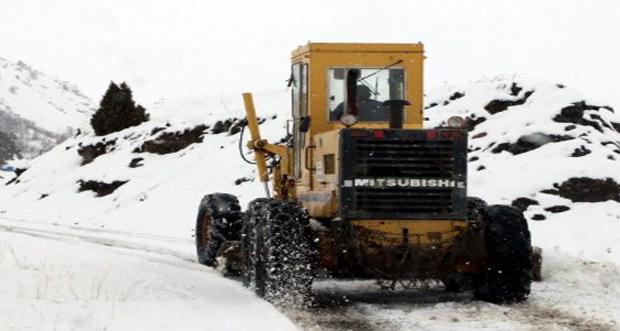 Erzincan'da 49 köy yolu kardan ulaşıma kapandı
