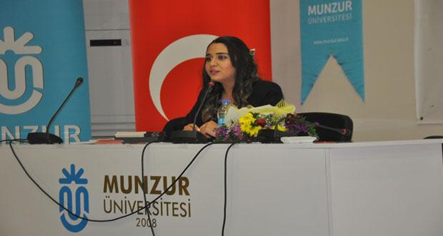 Tunceli Munzur Üniversitesinde, Genç Yazar Aleyna ATAŞ ile Buluştu