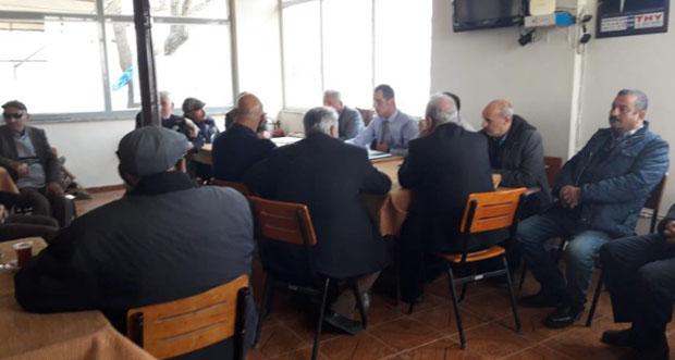 Sulama sorunları ve tarımsal elektrik faturalarının ödenmesi hakkında toplantı gerçekleştirildi