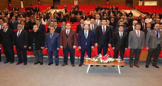 """Erzincan'da """"Bölgesel Hayvancılık Değerlendirme Toplantısı"""" yapıldı"""