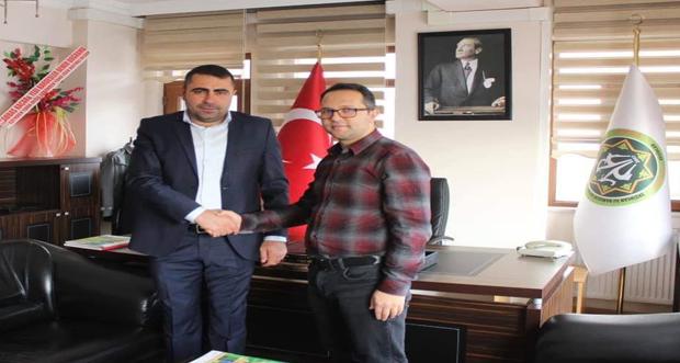 Erzincan İli Damızlık Koyun Keçi Yetiştiricileri Birliğine seçilen başkan İbrahim Karakuş,bugün itibariyle görevine başladı