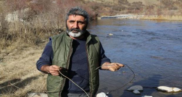 Tunceli 'de elektrikle balık katliamı