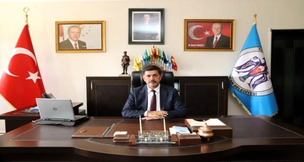 Erzincan Belediye Başkanı Bekir Aksun'dan yeni yıl mesajı