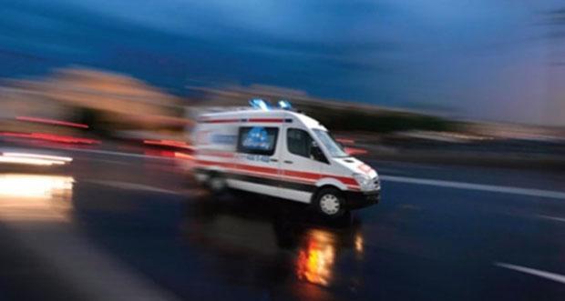 Erzincan'da Meydana Gelen Kazada İki Kişi Yaralandı