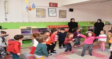 İl Millî Eğitim Müdürü Aziz GÜN, Erzincan Anaokulu'nu Ziyaret Etti