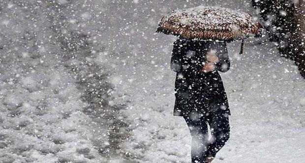 9 il için sağanak yağmur, 6 il için de yoğun kar yağışı uyarısı yapıldı