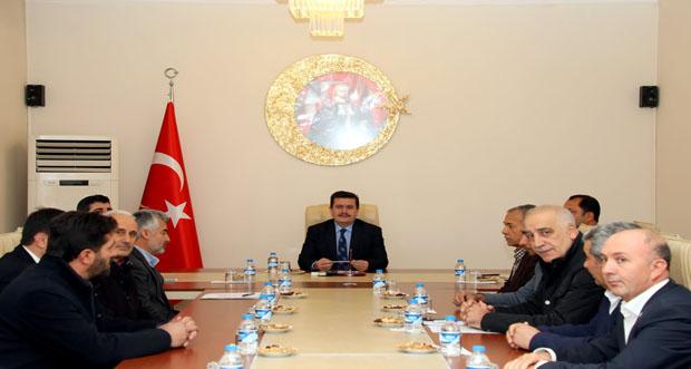 Erzincan Valisi Ali Arslantaş, Erzincan Sivil Toplum Kuruluşları Platformu İle Biraraya Geldi