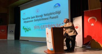 İpek Böceği Yetiştiriciliğinin Alt Yapısının Geliştirilmesi Paneli Düzenlendi