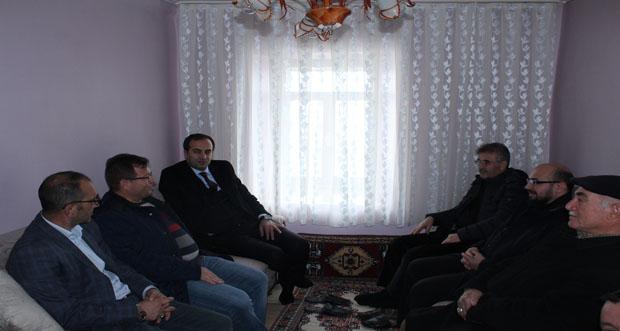 Erzincan Kemaliye Kaymakamı Murat Atıcı köy ziyaretlerine devam ediyor