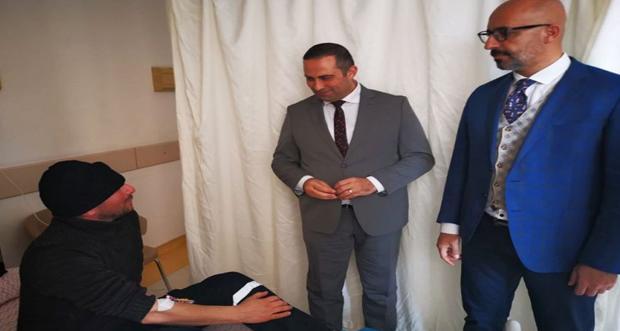 Hirik ilçe devlet hastanelerini ziyaret etti
