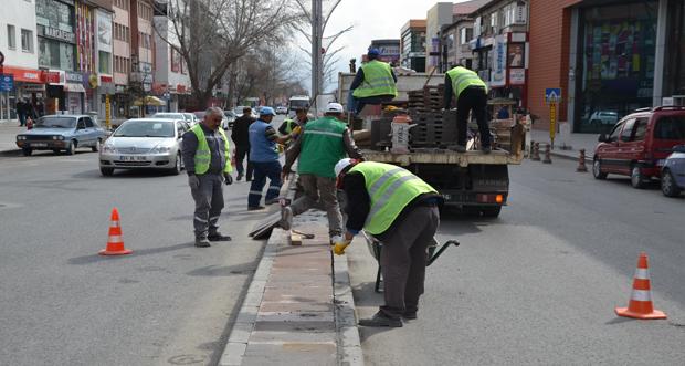 Erzincan Belediyesi Yoğun Çalışma İçerisinde