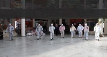 Erzincan Belediyesi salgınının önlenmesi konusunda tüm imkânlarını seferber ediyor